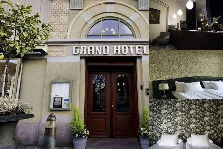Grand Hotel photo collage