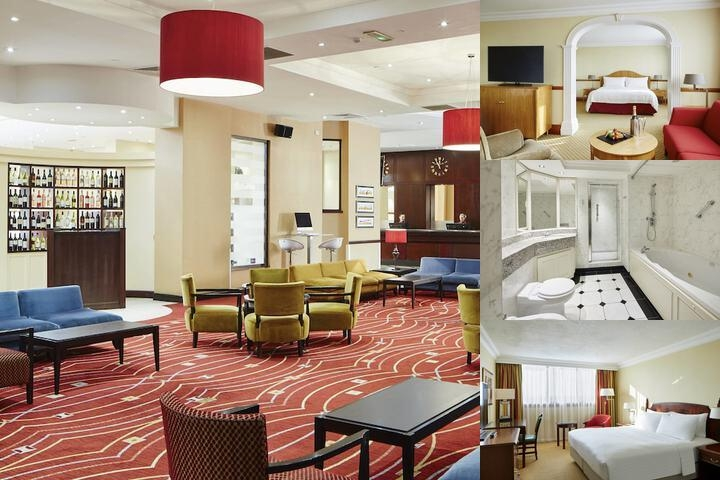 Glasgow Marriott photo collage