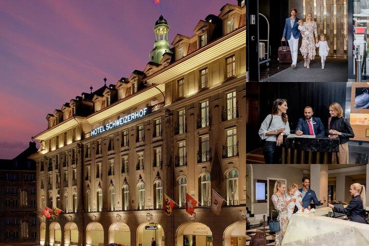 Hotel Schweizerhof Bern photo collage