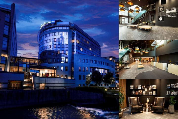 Radisson Blu Hotel Nydalen Oslo photo collage