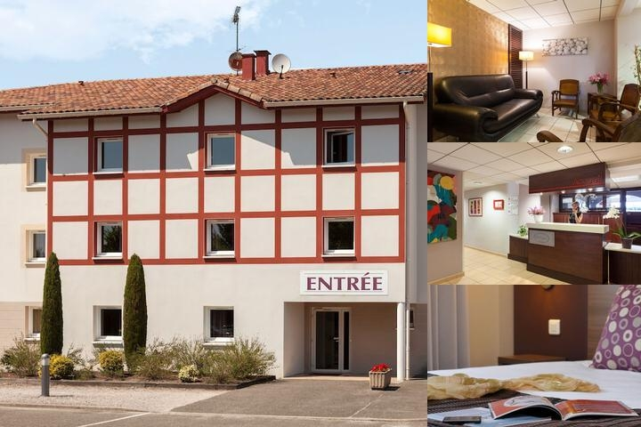 Inter Hotel Les Bruyeres photo collage