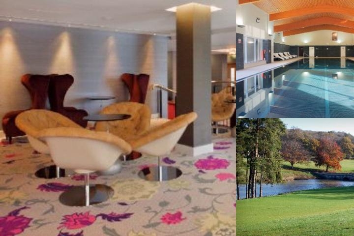 Crowne Plaza Hotel Heythrop Park Oxford photo collage