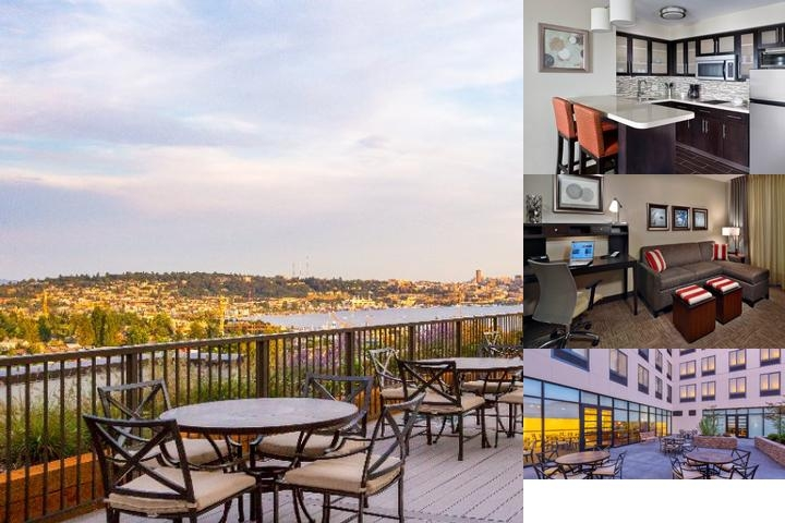 Staybridge Suites Seattle Fremont photo collage