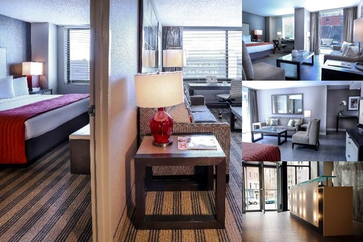 Avenue Suites photo collage