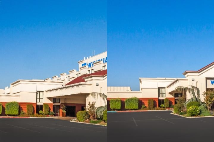 Wyndham Visalia photo collage