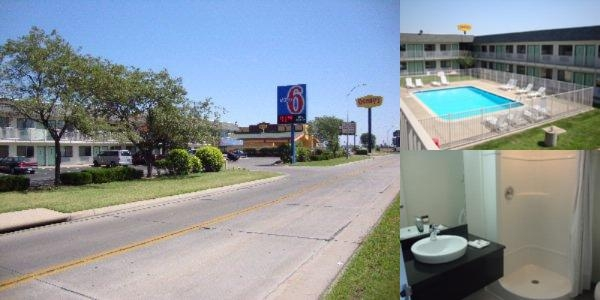 Motel 6 Airport photo collage