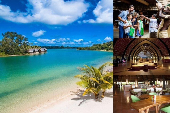Holiday Inn Resort Vanuatu photo collage