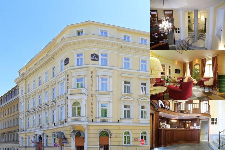 Best Western Hotel Kinsky Garden photo collage