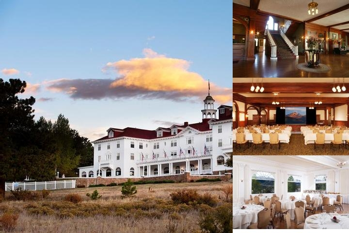The Stanley Hotel photo collage