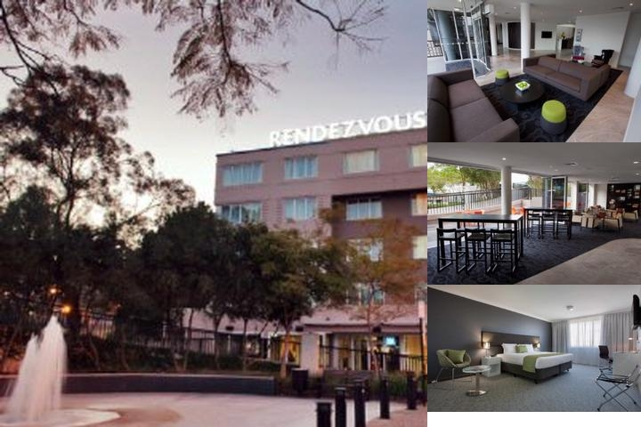 Rendezvous Studio Hotel Perth Central photo collage