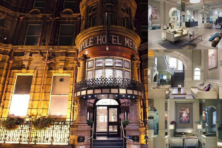 The Met Hotel Leeds photo collage