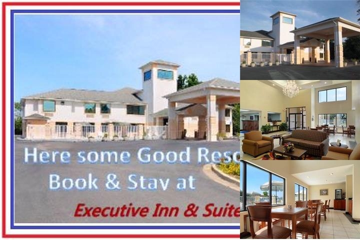 Executive Inn & Suites photo collage