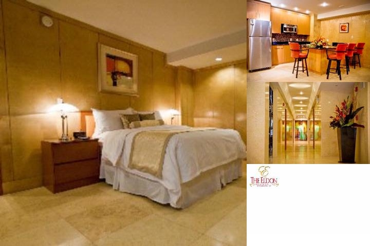 The Eldon Luxury Suites photo collage