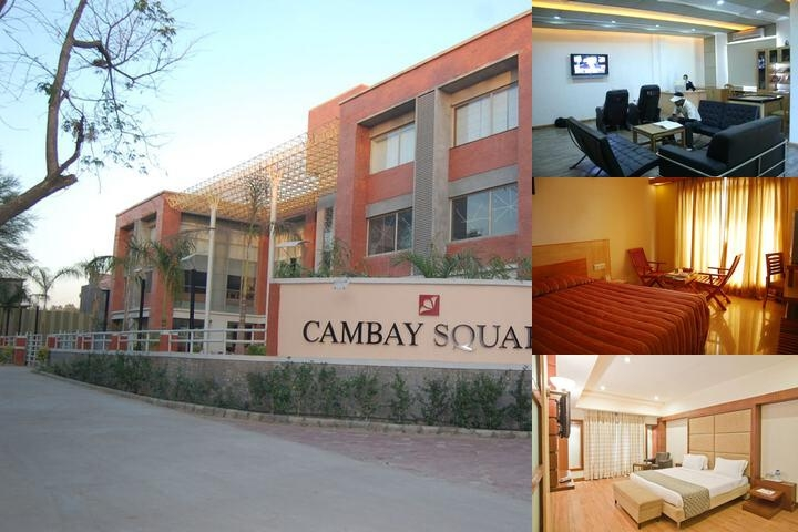 Cambay Spa & Golf Resort photo collage