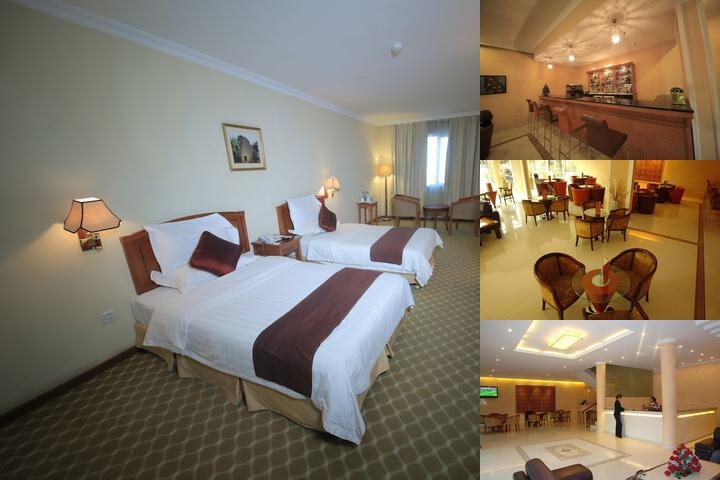 Dreamliner Hotel photo collage