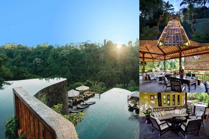 Ubud Hanging Gardens photo collage