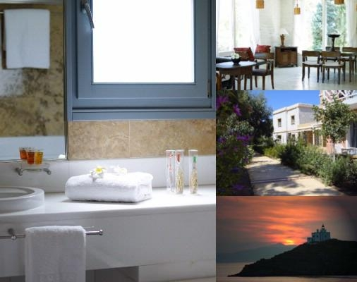 Porto Kea Suites photo collage