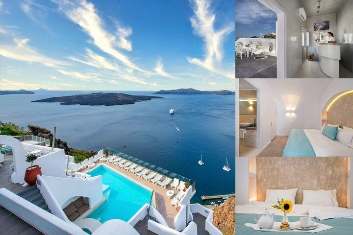 Athina Luxury Suites photo collage