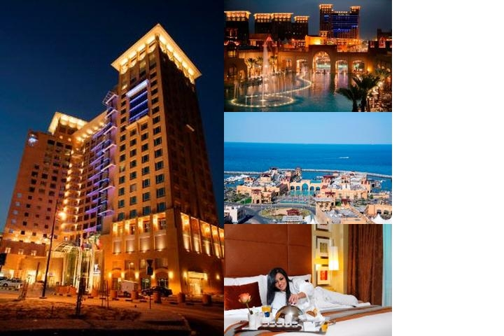Al Manshar Rotana photo collage