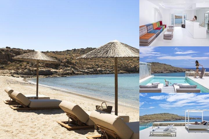 Casa Del Mar Mykonos Seaside Resort photo collage