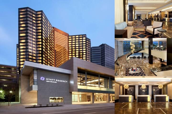 Hyatt Regency New Orleans photo collage