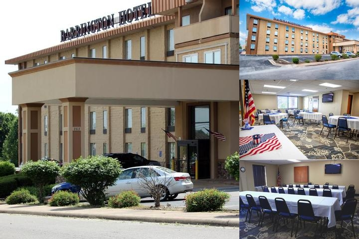 Barrington Hotel & Suites photo collage