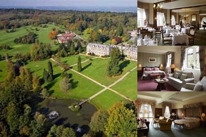 Ashdown Park Hotel photo collage