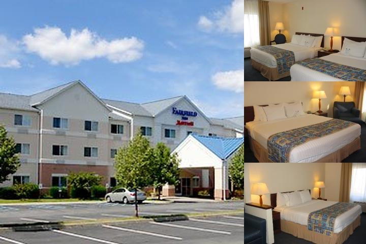 Albany Fairfield Inn Marriott photo collage