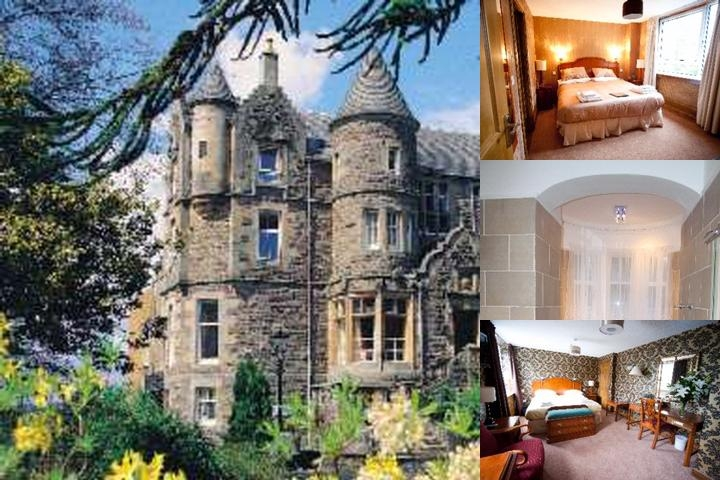 Knock Castle Hotel & Spa photo collage