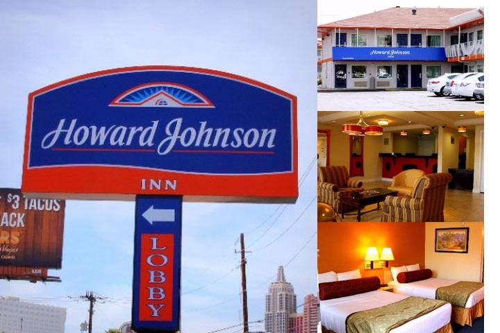 Howard Johnson Tropicana photo collage