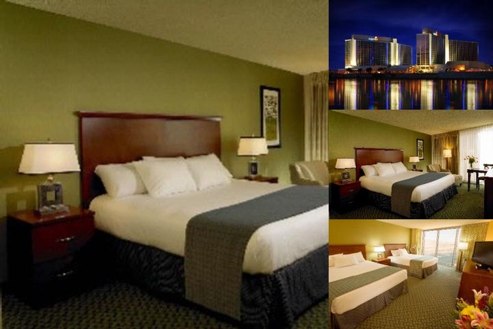 Aquarius Casino Resort photo collage