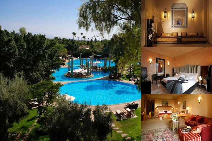 Es Saadi Marrakech Resort Hotel photo collage