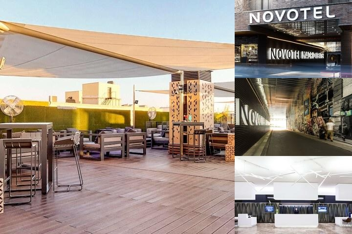 Novotel Madrid Center photo collage