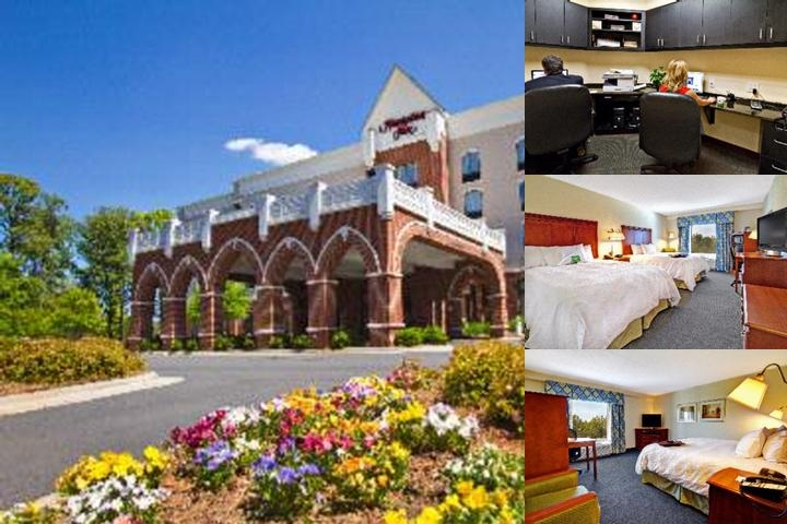 Hampton Inn Charlotte Belmont at Montcross photo collage