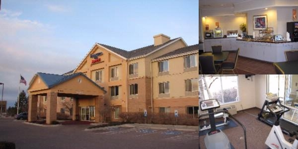 Fairfield Inn Aurora Medical Center photo collage