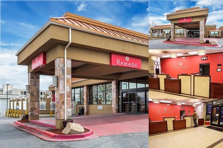 Ramada Salt Lake City Airport Hotel photo collage