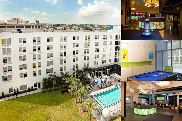 Aloft Miami Doral photo collage