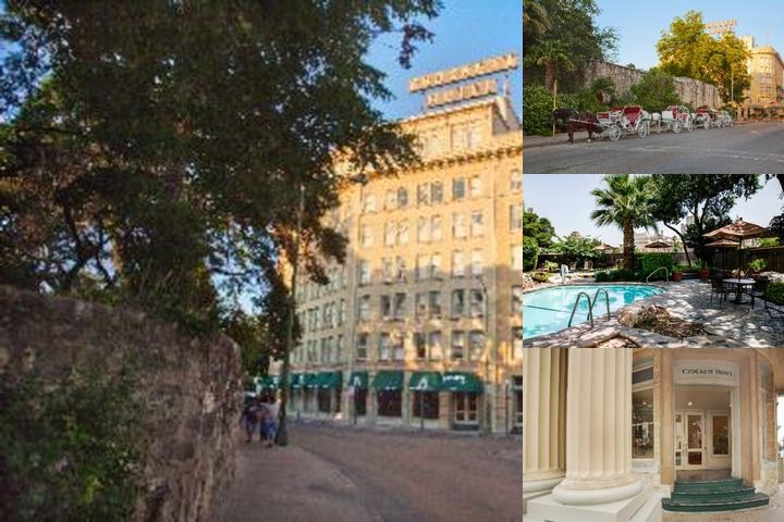 Crockett Hotel photo collage