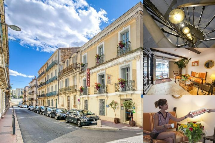 Hotel Aragon Montpellier photo collage