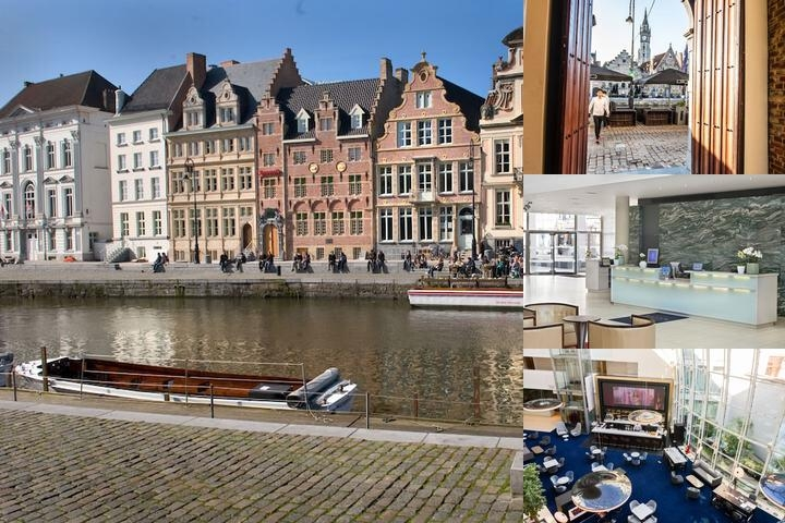 Ghent Marriott Hotel photo collage