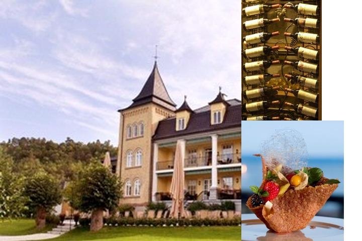 Hotell Refsnes Gods photo collage