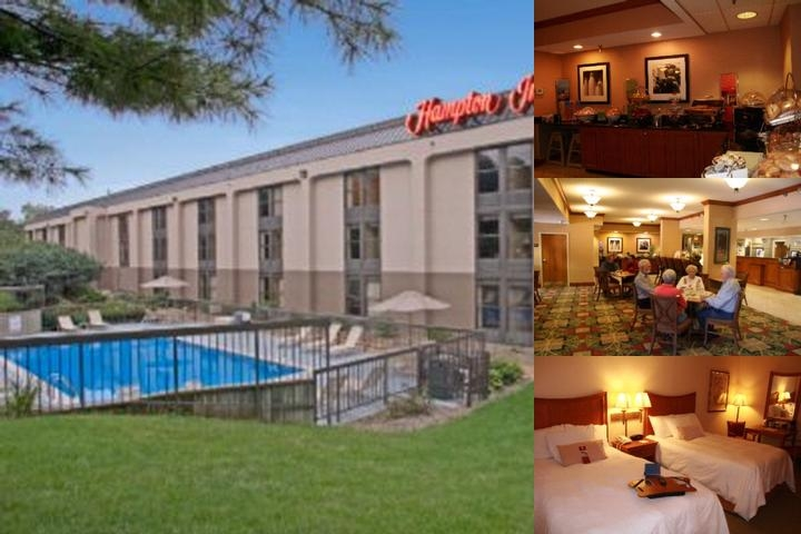 Hampton Inn State College photo collage