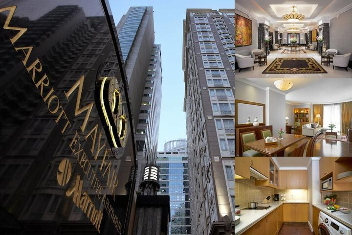 Mayfair Bangkok Marriott Executive Apartments photo collage