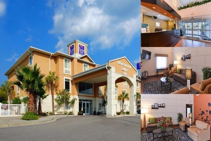 Sleep Inn & Suites Valdosta photo collage