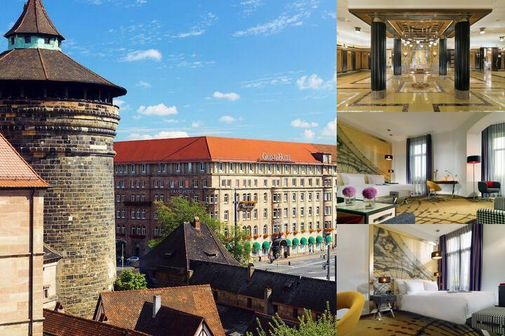 Le Meridien Grand Hotel Nurnberg photo collage