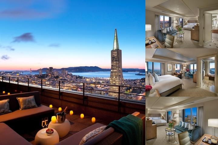 Mandarin Oriental San Francisco photo collage