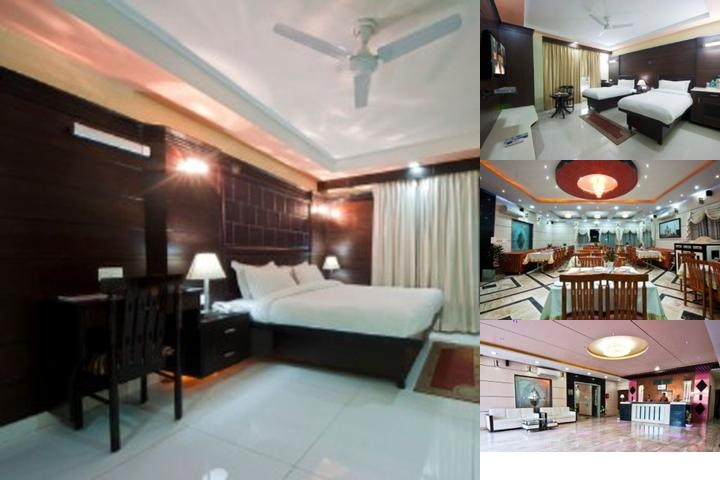 Parkside Sun Hotel Agra photo collage