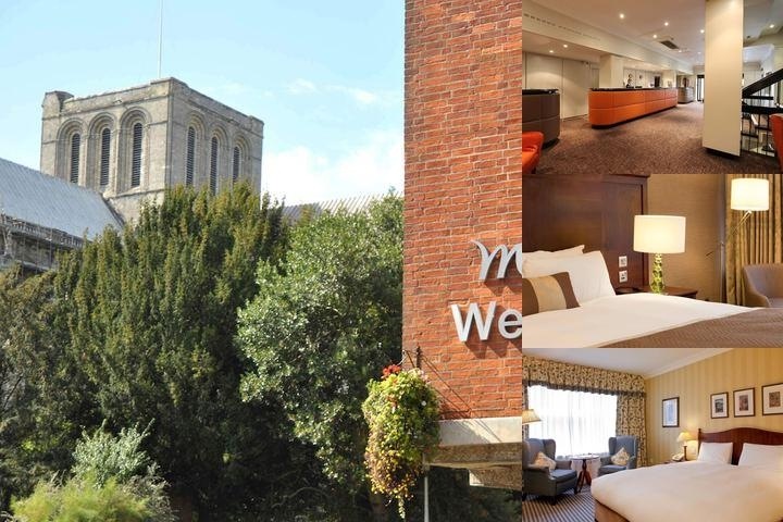 Mercure Winchester Wessex Hotel photo collage