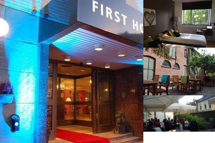 First Hotel Linne photo collage