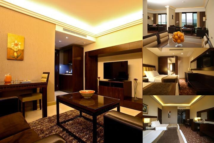 Lancaster Hotel photo collage